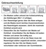 Dräger X-plore®1720+ V FFP2 NR D, Einweg-Halbmaske