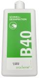 B40 Flächen-Schnelldesinfektion, 1 Liter Flasche